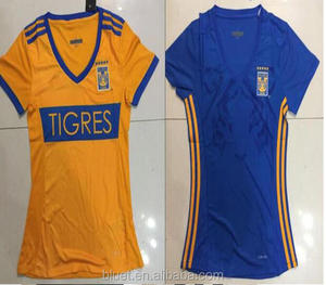 separation shoes 06031 51cdd 2017 Tigres women female soccer jersey thai quality
