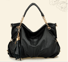 Wholesale Fashion Leather Designer Lady Hobo Bag Handbag ,Logo & Color Can be Customized