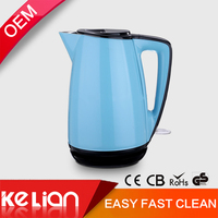 German standard 1.7L national stainless steel cordless electric kettle