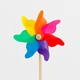 High Performance Children Portable Mini Plastic Toy Garden Windmill