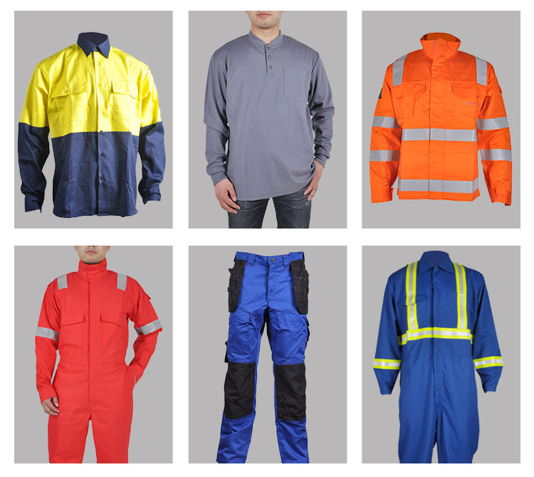 High Visibility 100% Cotton UV Protection mining Jacket