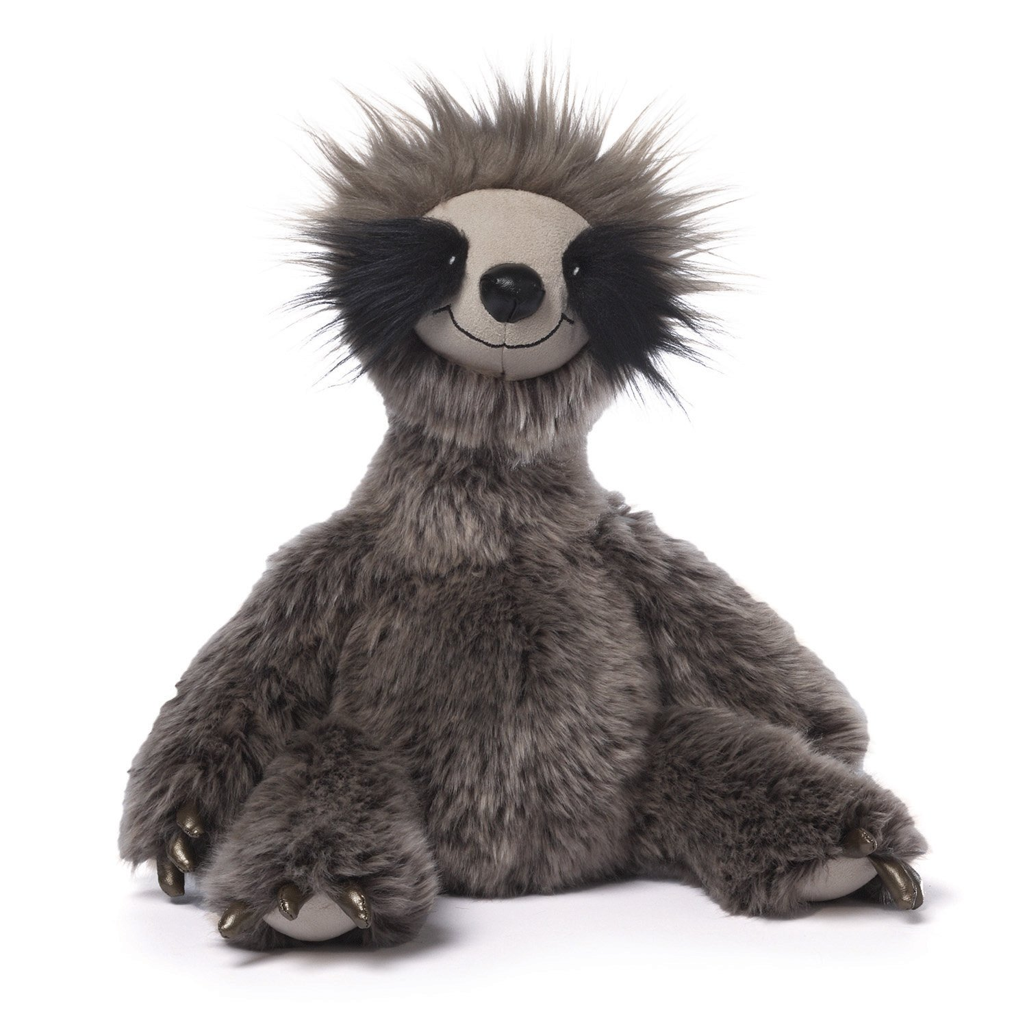 GUND Roswel Sloth Stuffed Animal Plush Dark Gray, 15""