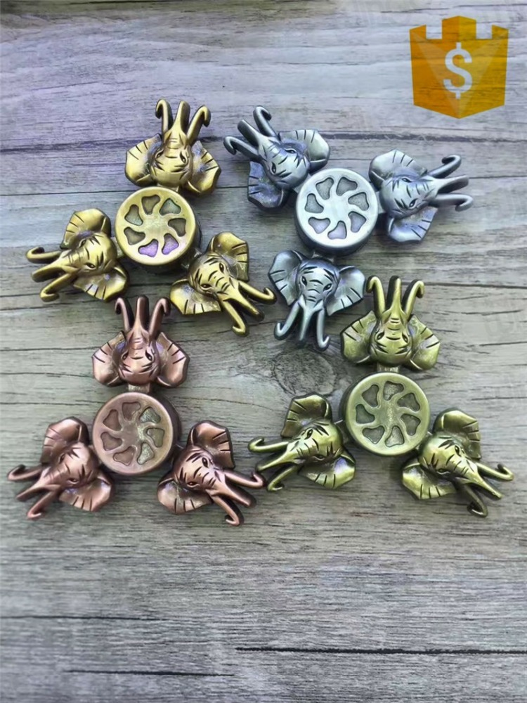 2017 NEW Retro Animal Elephant hand spinner world cup fidget spinner Stress Reliever Toys For Autism and ADHD Children