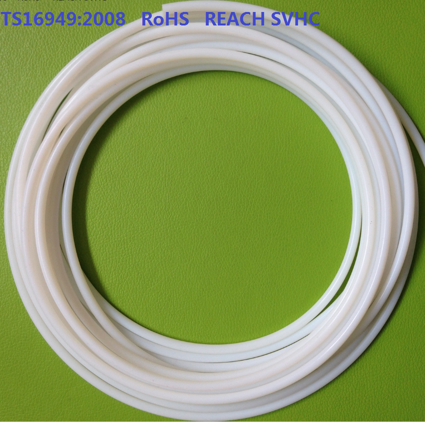 High temperature and pressure PTFE fuel hose