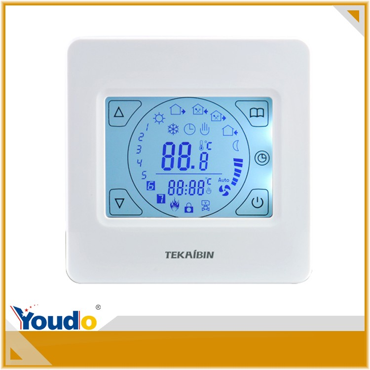 [TEKAIBIN] E92.713 three color built in sensor work in water heating system wholesale nest learning thermostat