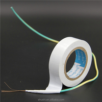 Alibaba website PVC Electrical Insulating pipe wrapping tape SHUSHI white colour