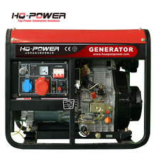 home small diesel portable generators 220v 7kw
