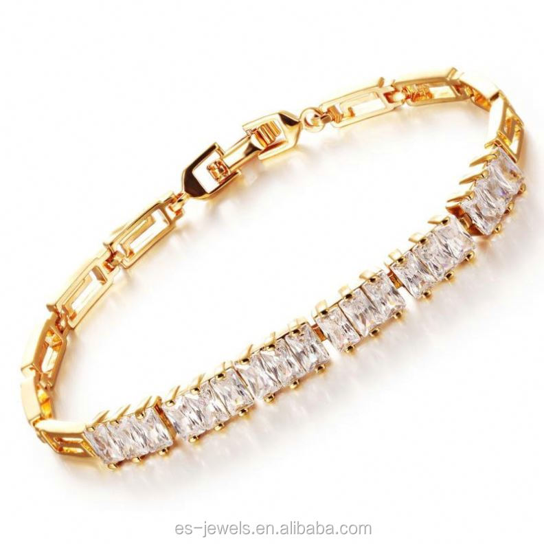 2017 tennis bracelet bracelet women with AAA cz stone