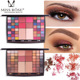 MISS ROSE 48 Colors Eyeshadow Glitter Shimmer & Warm Matte Eyeshadow Palette Powder Blusher With Brushes Cosmetic Set
