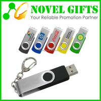 Promotion Custom Cheap Rotate USB Flash Drive Memory Disk