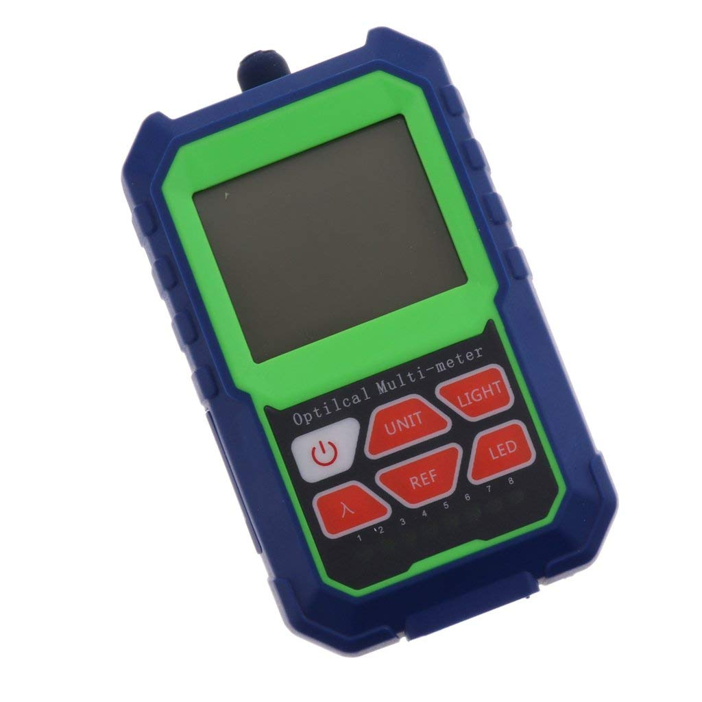 Baosity Fiber Optic Optical Power Meter Cable Tester Networks Support FC SC ST