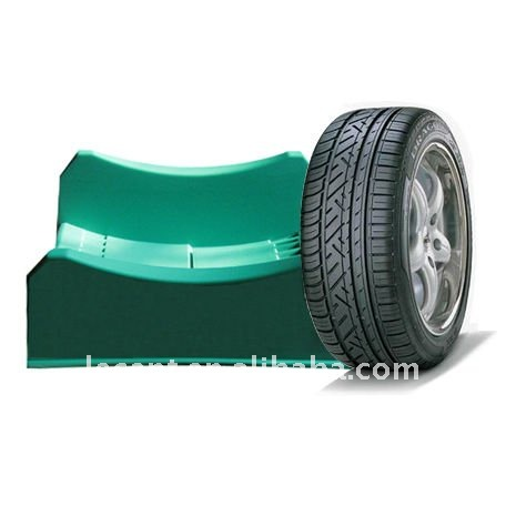 Fashion Color Plastic Light Portable Tire Display Stand