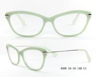 Cat Eye Acetate Optical Glasses Frames for Girls