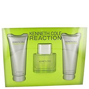 Kenneth Cole Reaction by Kenneth Cole - Gift Set -- 1.7 oz Eau De Toilette Spray + 3.4 oz Shower Gel + 3.4 oz After Shave Gel