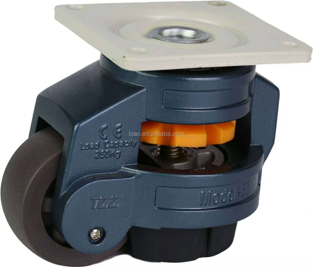 2019 New Design Back Adjust South Korea Stype High quality Load Capacity 250kg Leveling Casters 60F