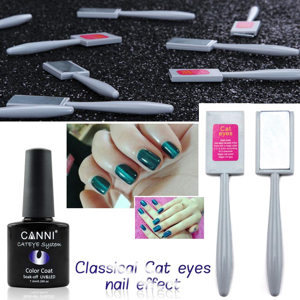 51023W CANNI 24 color cat eye nail polish gel varnish magnet gel effect nail polish