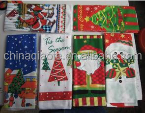 german christmas wholesale printed cotton kitchen towel