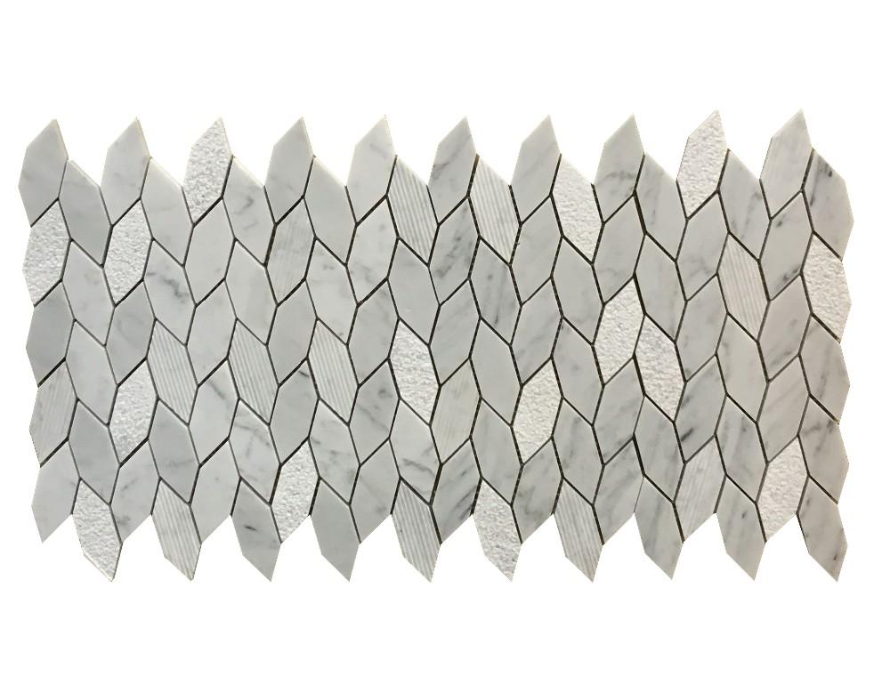 카라라 흰색 조각 대리석 타일,화이트 대리석 바닥 타일 - Buy ...