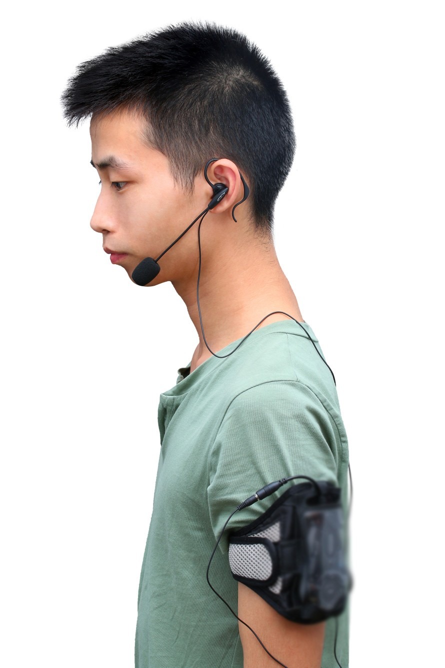 FBIM Vnetphone &Ejeas soccer Referee 4 Users 1.2km Full Duplex Talking Bluetooth Football communication referee Headset