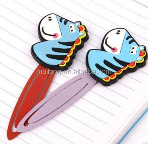 The New Creative Cartoon Animation Bookmarks Pin Library Paper Clips Crazy  City Animal Model Pn5303 - Buy A Paper Clip,Anime Bookmarks,Pin Product on