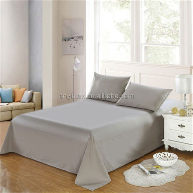 Wholesale Bed Sheet Set Fitted Sheet Quality Brushed Microfiber Bed Bedding  Sets