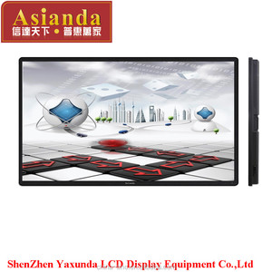 "65"" thin bezel 4K resolution capacitive multi- touch screen, OPS monitor"