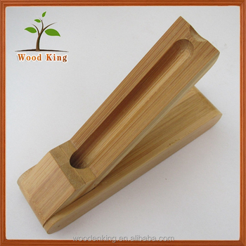 New 2017 Custom Natural Pollution-Free Bamboo Gift Box Custom Custom Logo Bamboo Pen Boxes