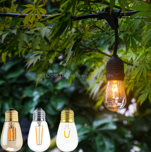 new product S14 2W dimmable E26 LED filament bulb christmas light bulb 120v ST45