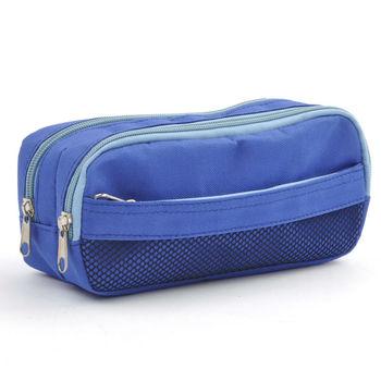 Zipper Binder Pencil Pouch 3 Pocket Bag
