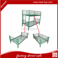 Hot Sale Twin Over Twin Bunk Bed Double Metal Bunk Bed
