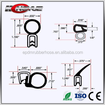 antiaging garage door bottom seal door seal