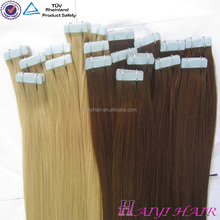 One Donor 100 Virgin Brazilian Hair Cheap Waterproof Private Label Seamless Skin Weft Hair Extension