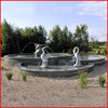 Large outdoor marble hand work stone frog water fountain for garden