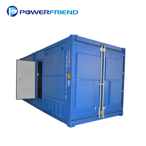 Durable use Container type silent diesel generator 750 kva