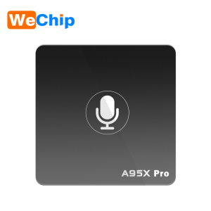 2018 Latest Product WeChip A95X pro Amlogic S905W ATV 2GB RAM 16GB ROM Quad Core Amlogic S905W Android TV 17.1 Set Top Box
