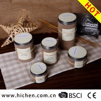 Wholesale Natural Essencial Oil Tin Candle For Home Decoration