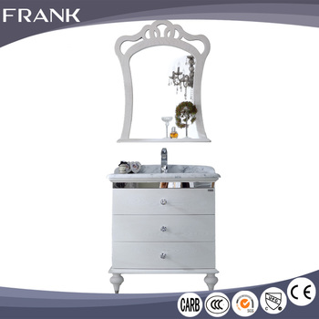 Frank Pvc Laundry Washing Machine Mirrored Corner Bathroom Furniture Wall Medecine Cabinet With Wash Basin