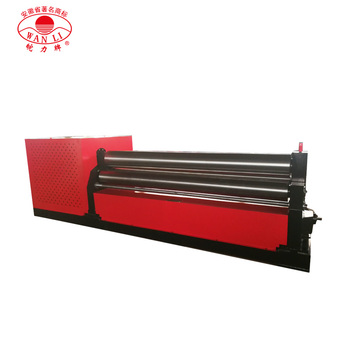 metal sheet steel plate rolling machine for sale manual sheet metal plate rolling machine price  three roller Metal rolling
