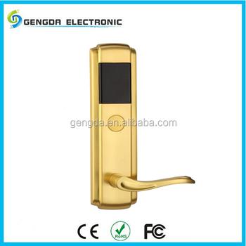 european style door handle solenoid z wave door lock