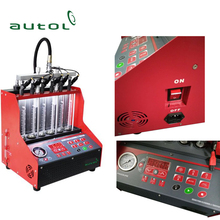 2017 Best Selling Cnc600 Ultrasonic Fuel Injector Cleaner Better Than Launch Cnc602a Injector Cleaner And Tester