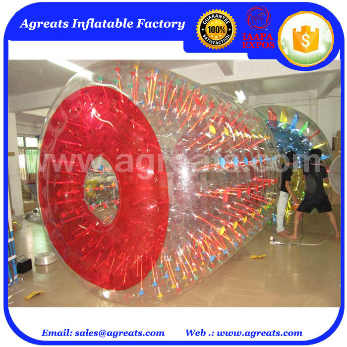 Cheap inflatable floating water balls giant human water bubble balls GW7334