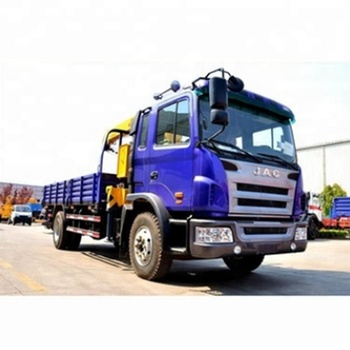Truck crane SQ5SK3Q with 5 tons lifting capacity  suitable for 6whells medium duty truck