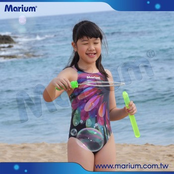 High Quality Kids One Piece Swimsuit Little Girls Flower ...