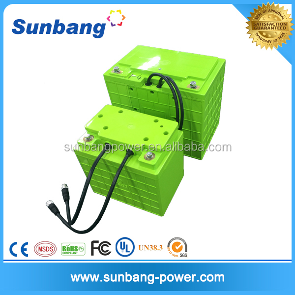 High-rate lifepo4 12V 100ah rechargeable li-ion power tool battery