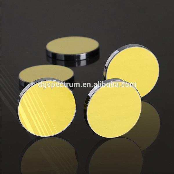 2015 Year Golden Supplier and Reliable Technology Laser Parts Thickness 3 mm Dia 25.4mm sphere gold mirrors