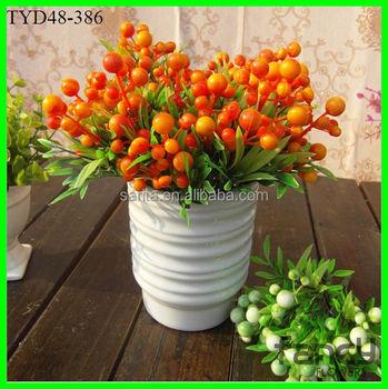 Murah Grosir Dekoratif Buah Untuk Rangkaian Bunga Buatan Buy