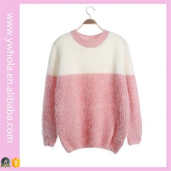 Venta Caliente Dos Colores Mohair Diseño Marca Suéter Patrones Que ...