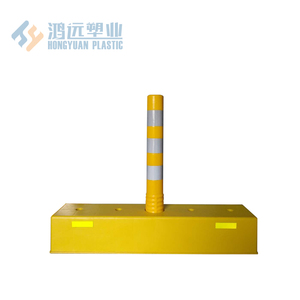 Durable and traffic safety product lane separator road divider