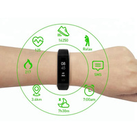 Free sdk and api app customized service waterproof fitness tracker heart rate smart band