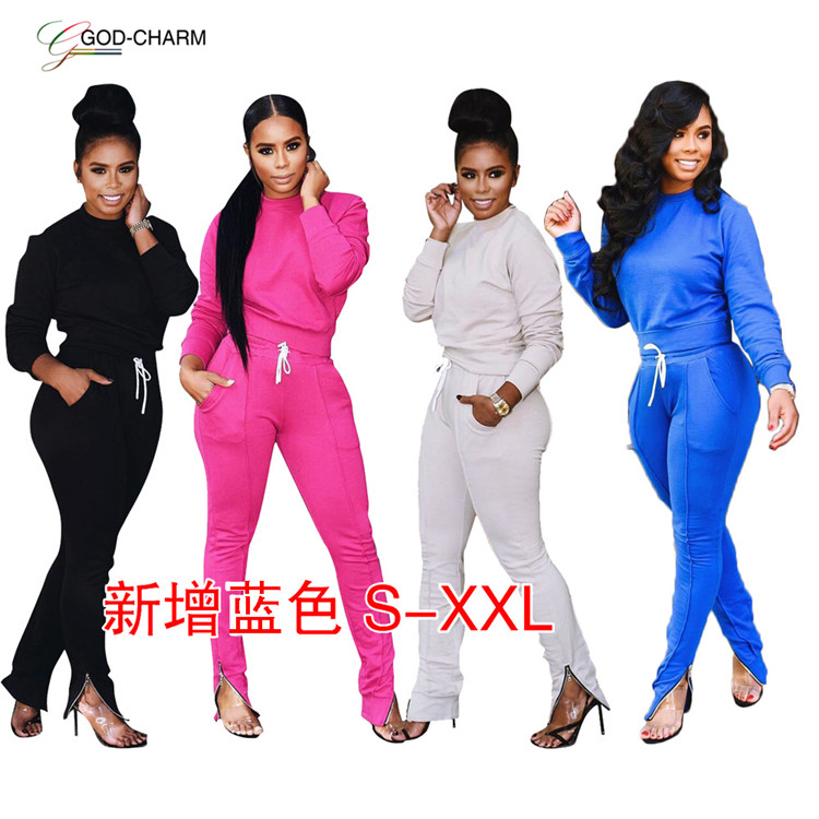 *GC-66871027 2020 new arrivals Wholesale  sexy women Latest Design Good quality sweat suits  quality sweat suit for ladies